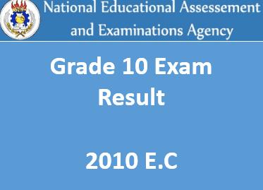 NEAEA Grade 10 Result 2019 nae gov et 10 exam result 2011 EC