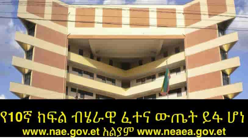 Array - www neaea gov et 2018 result  2010  grade 10 grade 12 placement      rh   neaeagovet com