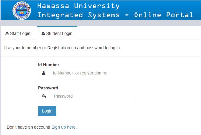 Hawassa University (ss.hu.edu.et) Ethiopia Online Portal